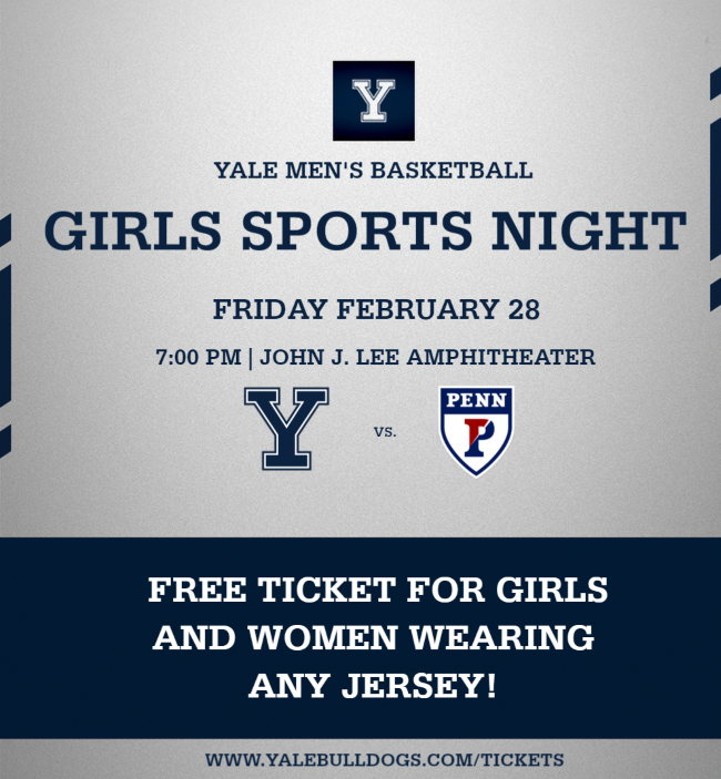 Girls Sports Night | Free ticket for girls and women in any jersey