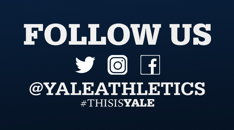 Follow Yale Athletics on Twitter